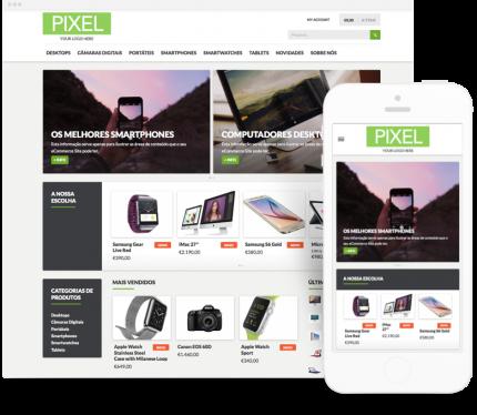 Pixel site para Loja Online (comércio electrónico)
