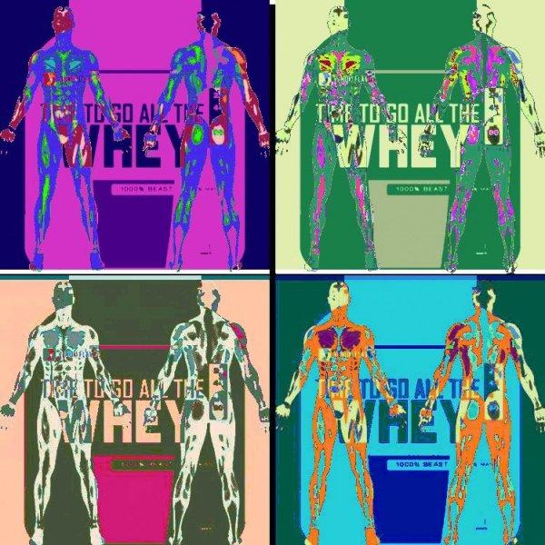 Whey Protein ikonografi