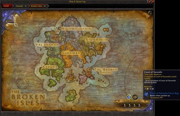 Legion Endgame- World Quests Guide | World of Warcraft ...
