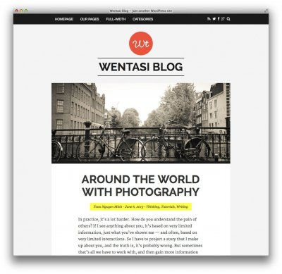 Wentasi wordpress tema tumblr
