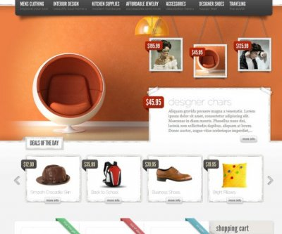 eStore wordpress tema e-handel