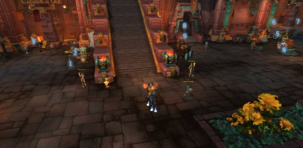 BFA Guide: Where are the profession trainers Horde | World