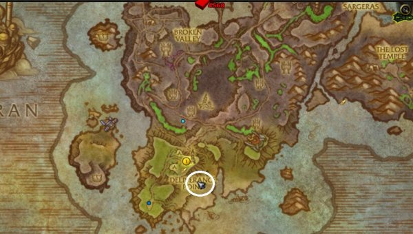 how to get to deliverance point wow