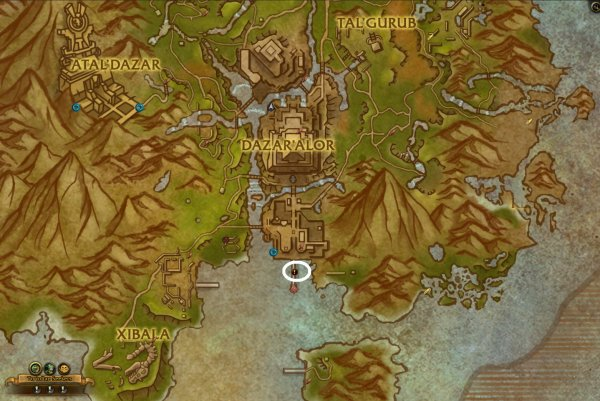 Guide: Where is the Order Hall in Battle for Azeroth | World