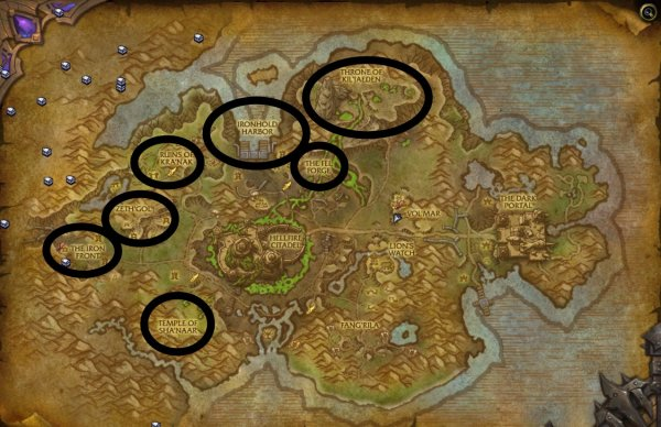 draenor bonus objectives