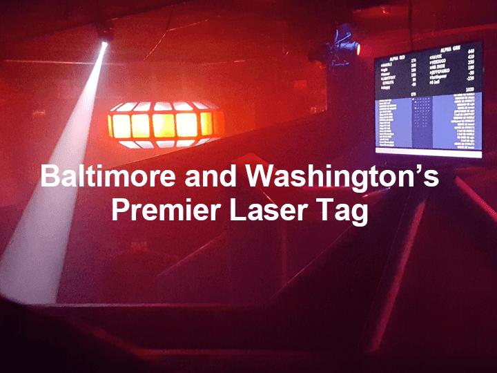 Laser Tag in Baltimore and Washington DC