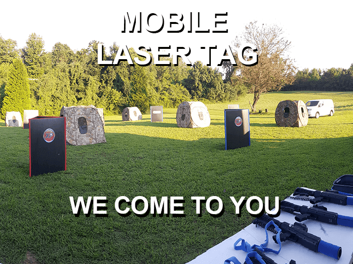 Mobile Laser Tag Playing Field