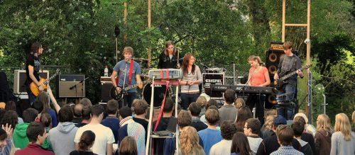 Die Band Redeemed stand beim Summerjam 2011 auf der Bühne.