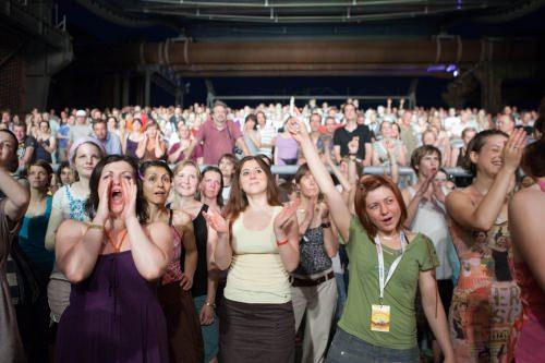 Das Publikum beim Traumzeit Festival 2010.